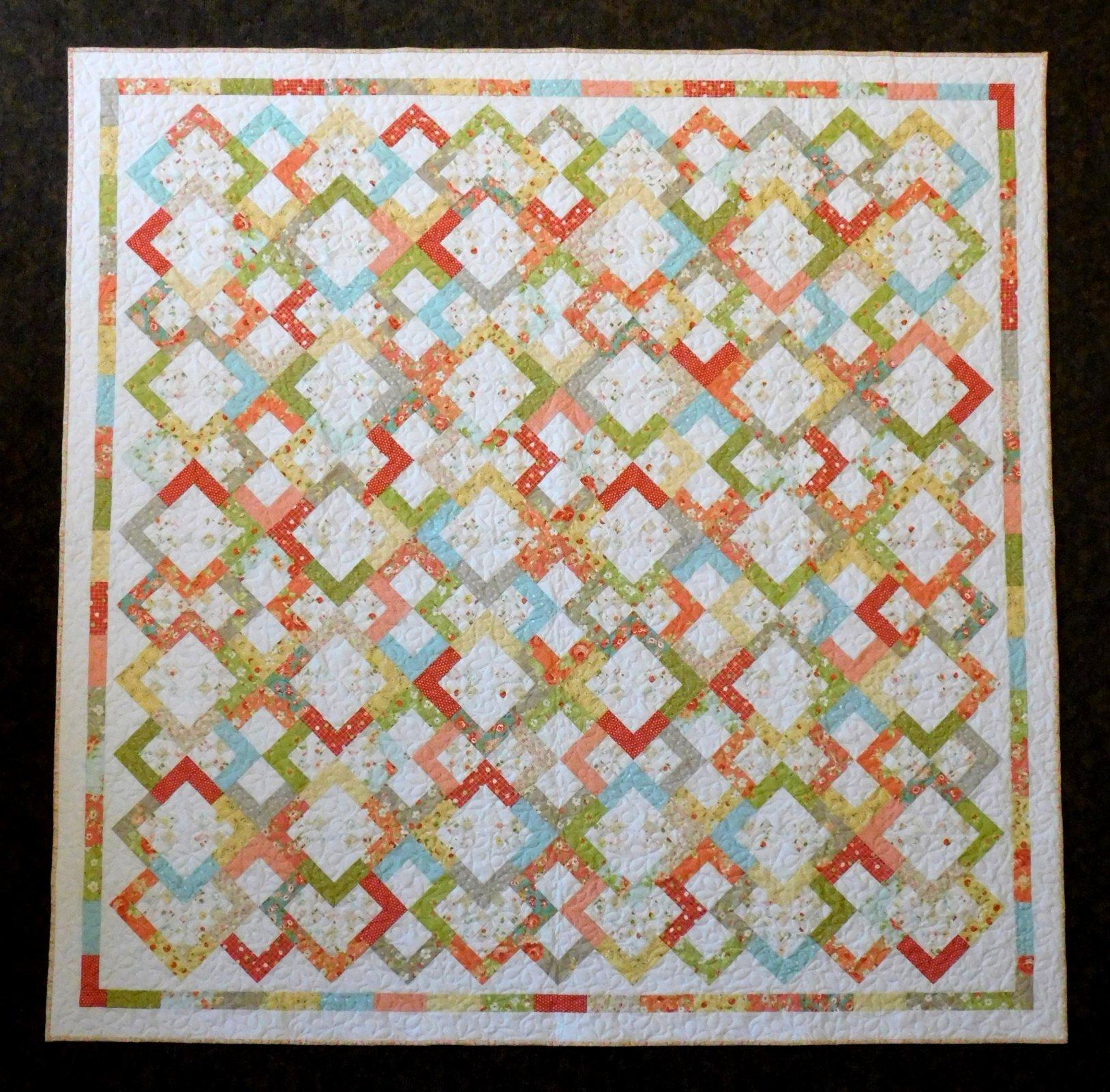 Corner Candy Shop Quilt Kit - 85 x 85