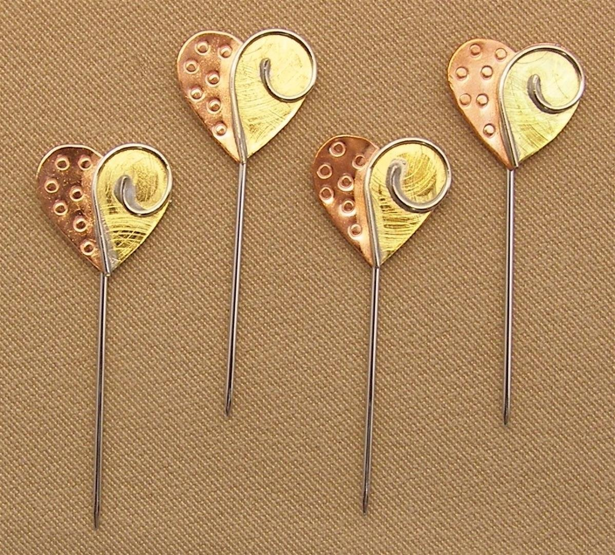 Hearts Counting Pins - Tapestry 22