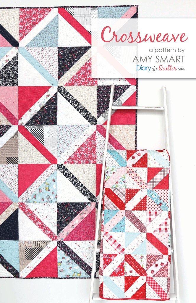 Crossweave Quilt Pattern by Amy Smart