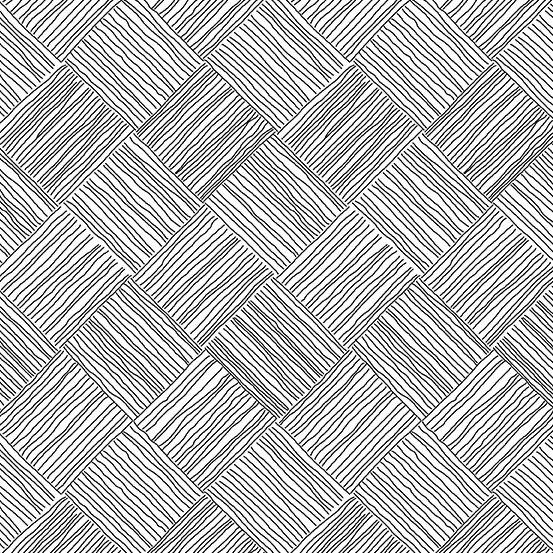 Century - Bias Checkerboard - Black on White