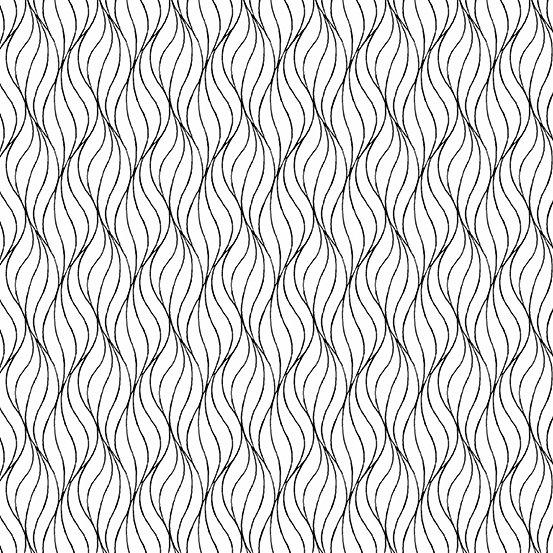 Century - Waves - Black on White