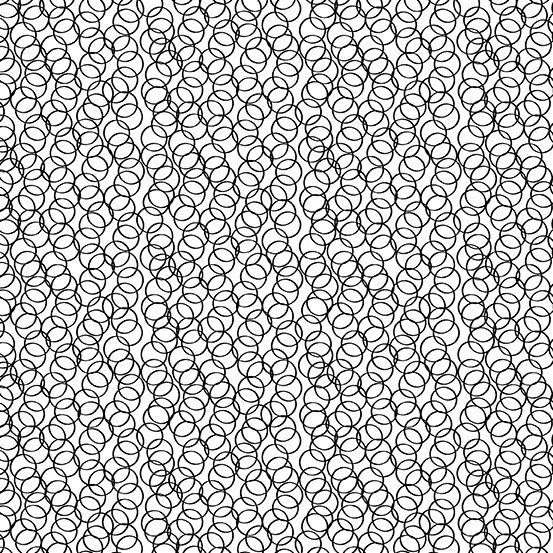 Century - Circles - Black on White