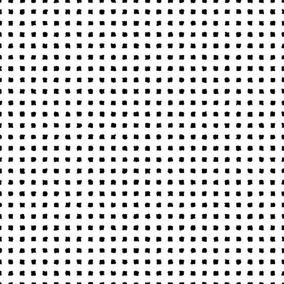 Century - Small Squares - Black on White