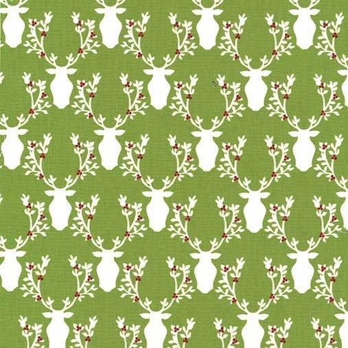 Rustique Winter - Bucks and Boughs - Garland