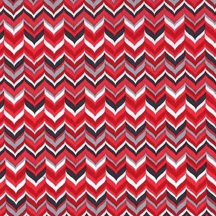 Rustique Winter - Tweed - Red