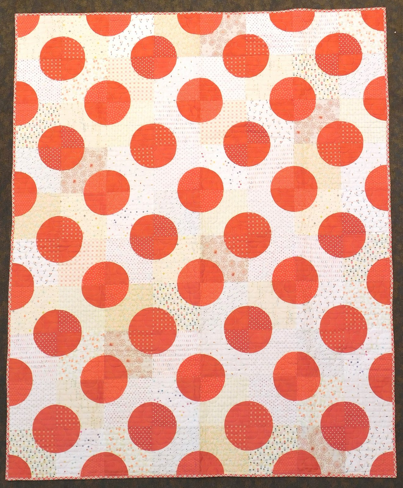 Dot Dot Dot Quilt Kit 56 1/2 x 70 1/2