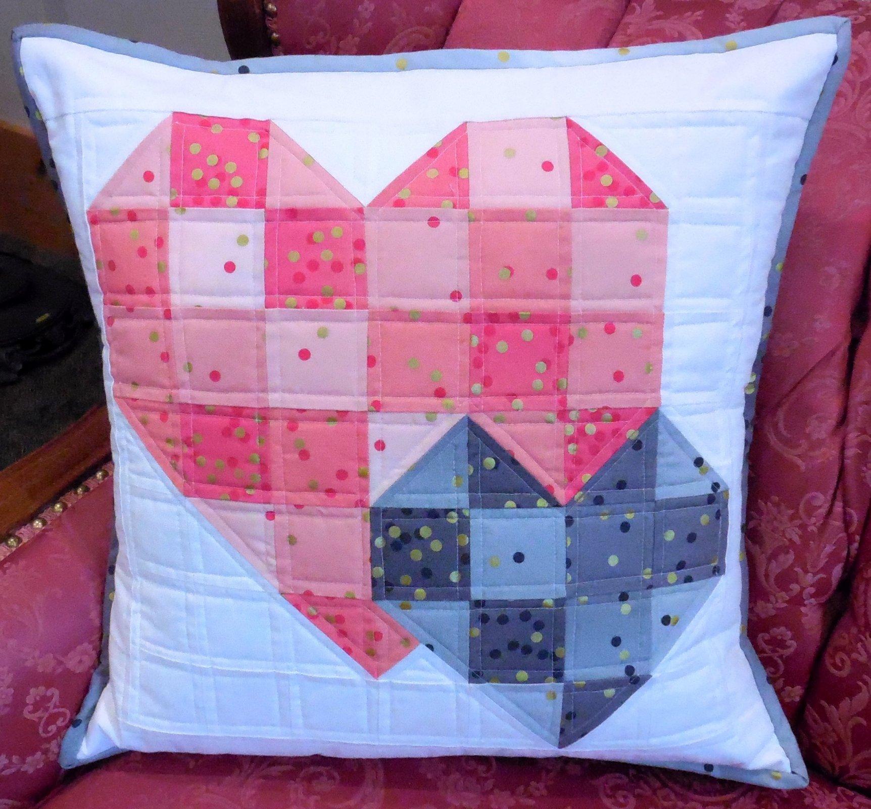 Double Heart Pillow Kit