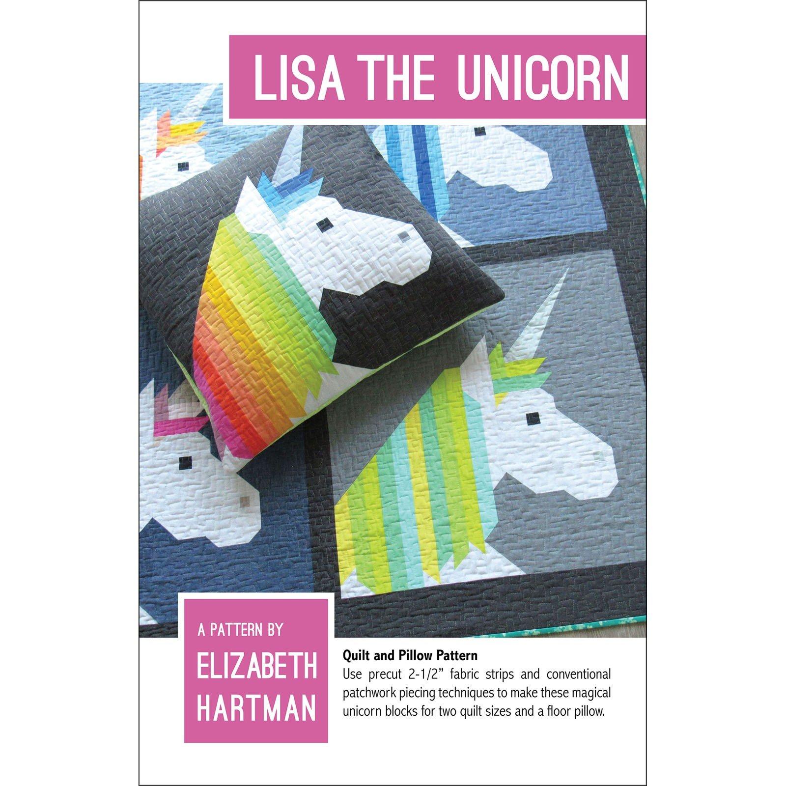 Lisa The Unicorn - Pattern by Elizabeth Hartman