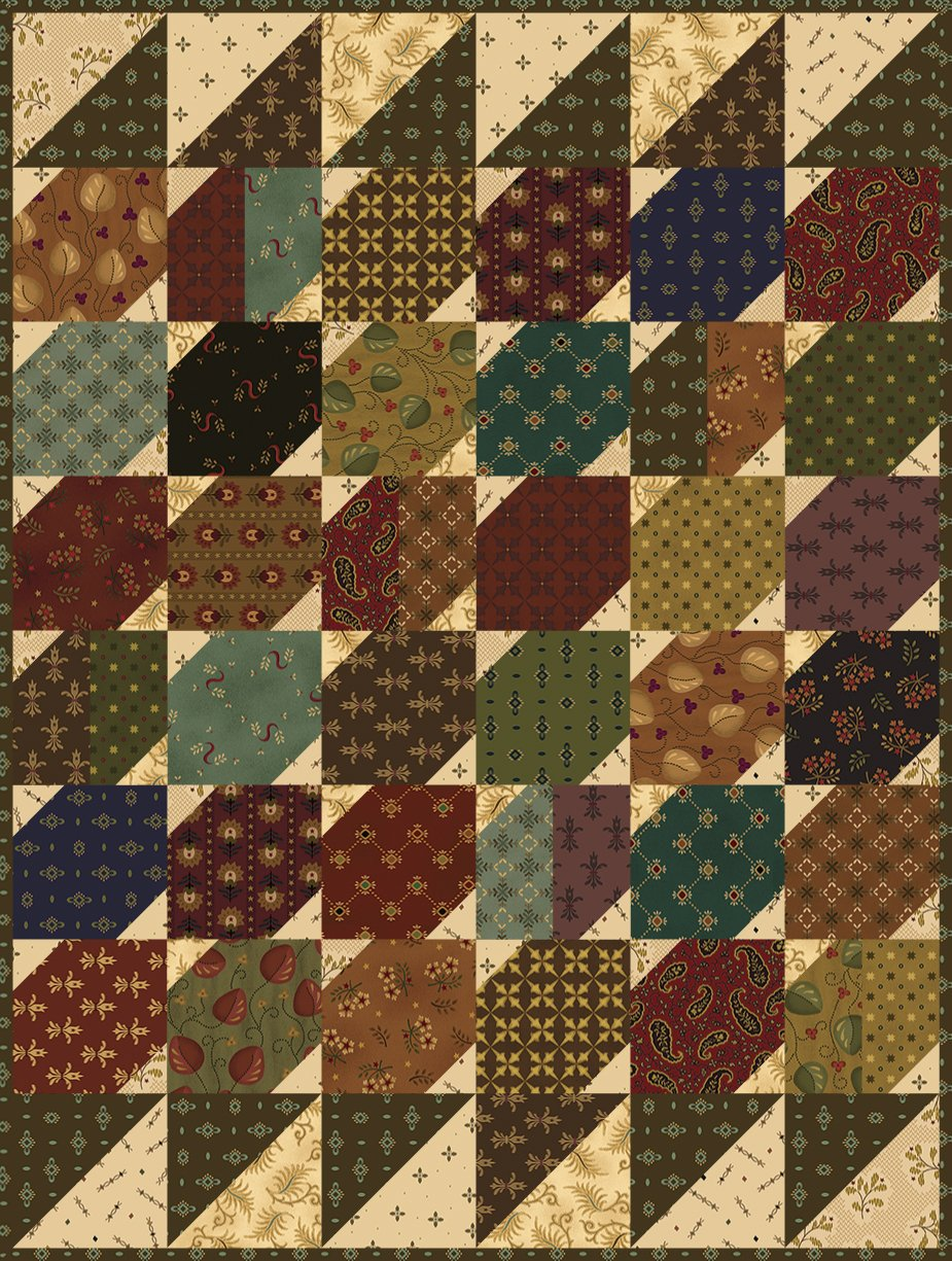 Simple Whatnots 8 - Frugal Farm Wife Quilt Kit - 18 1/2 x 24 1/2