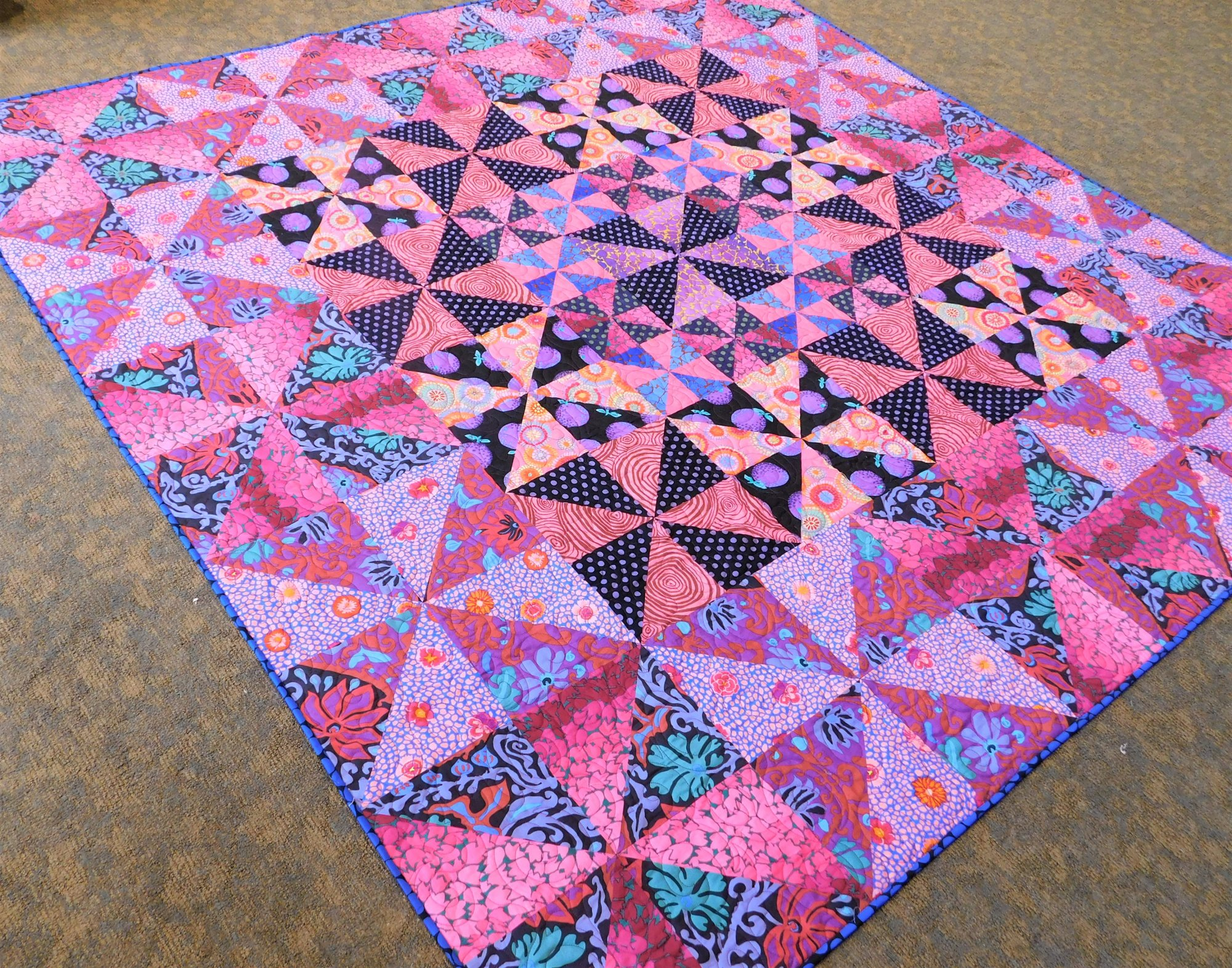 Fruits of the Forest Quilt Kit - 80 1/2 x 80 1/2