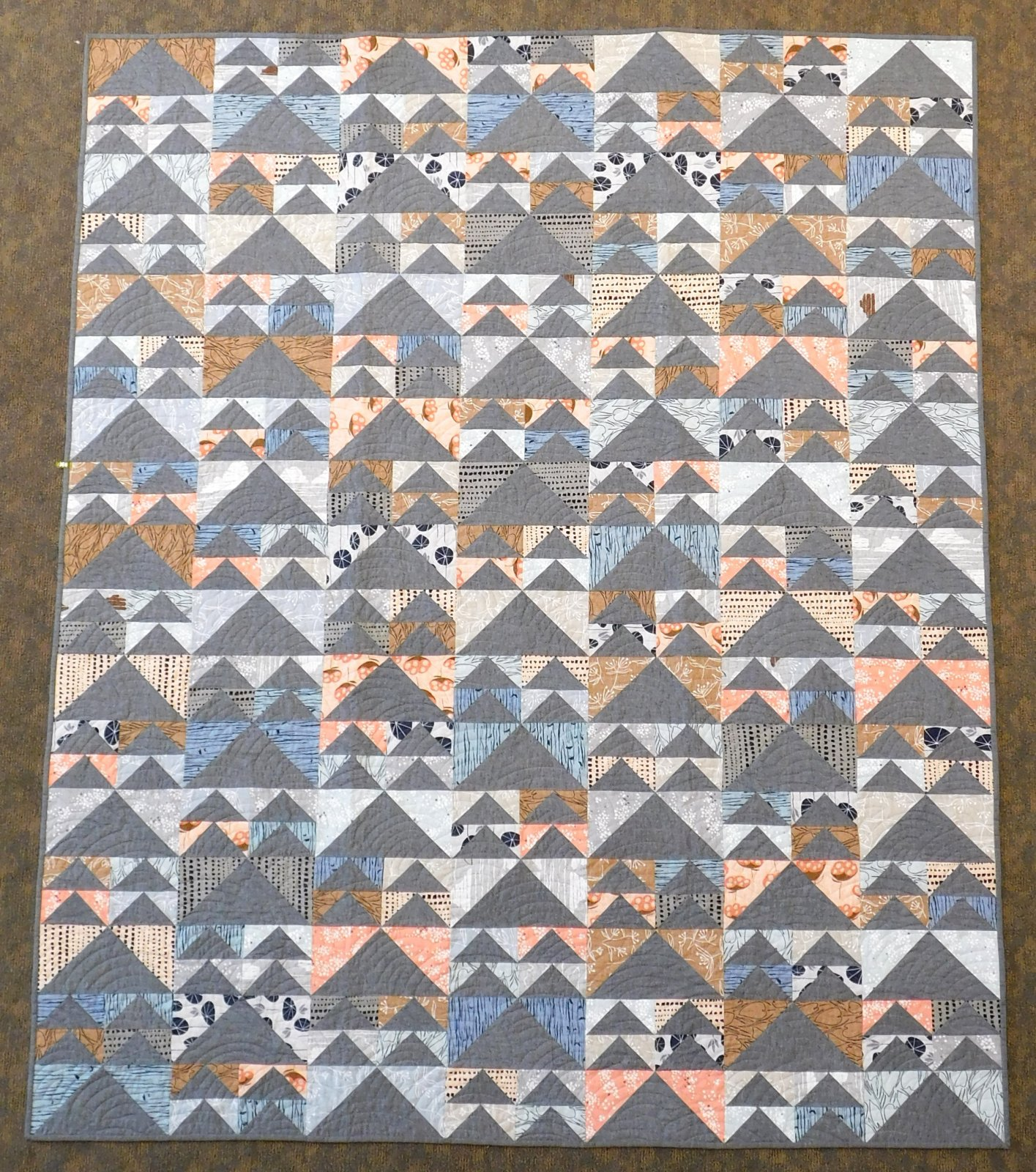 Geese In Flight Quilt Kit 70 x 85
