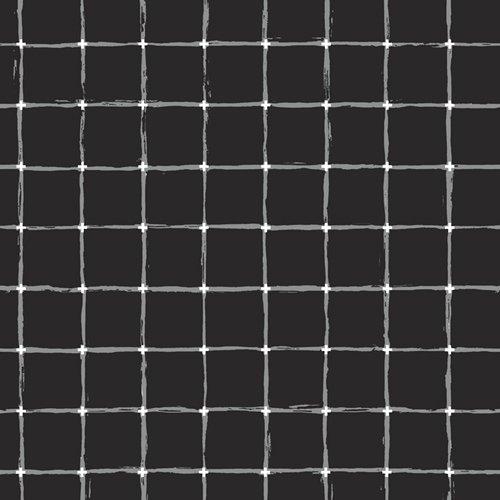Grid - Negative - black