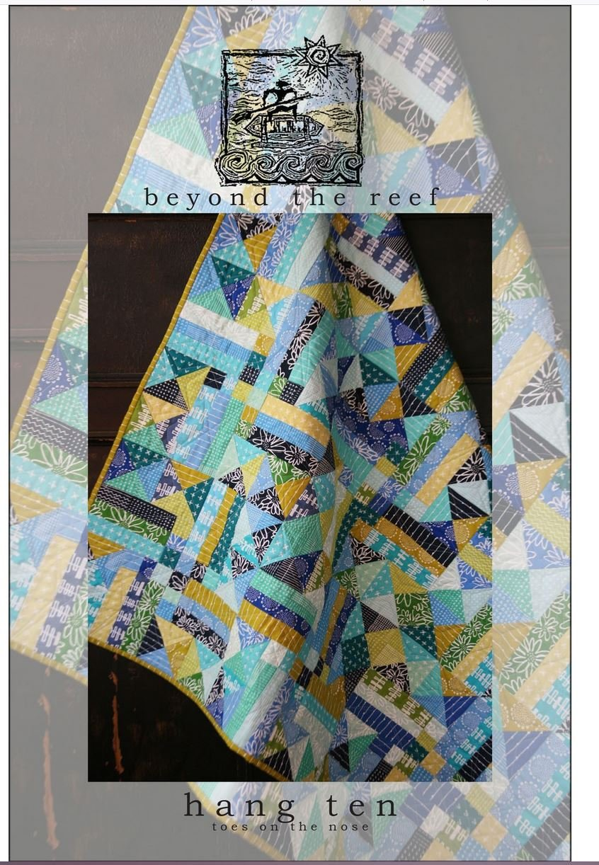 Hang Ten Quilt Pattern by Beyond the Reef