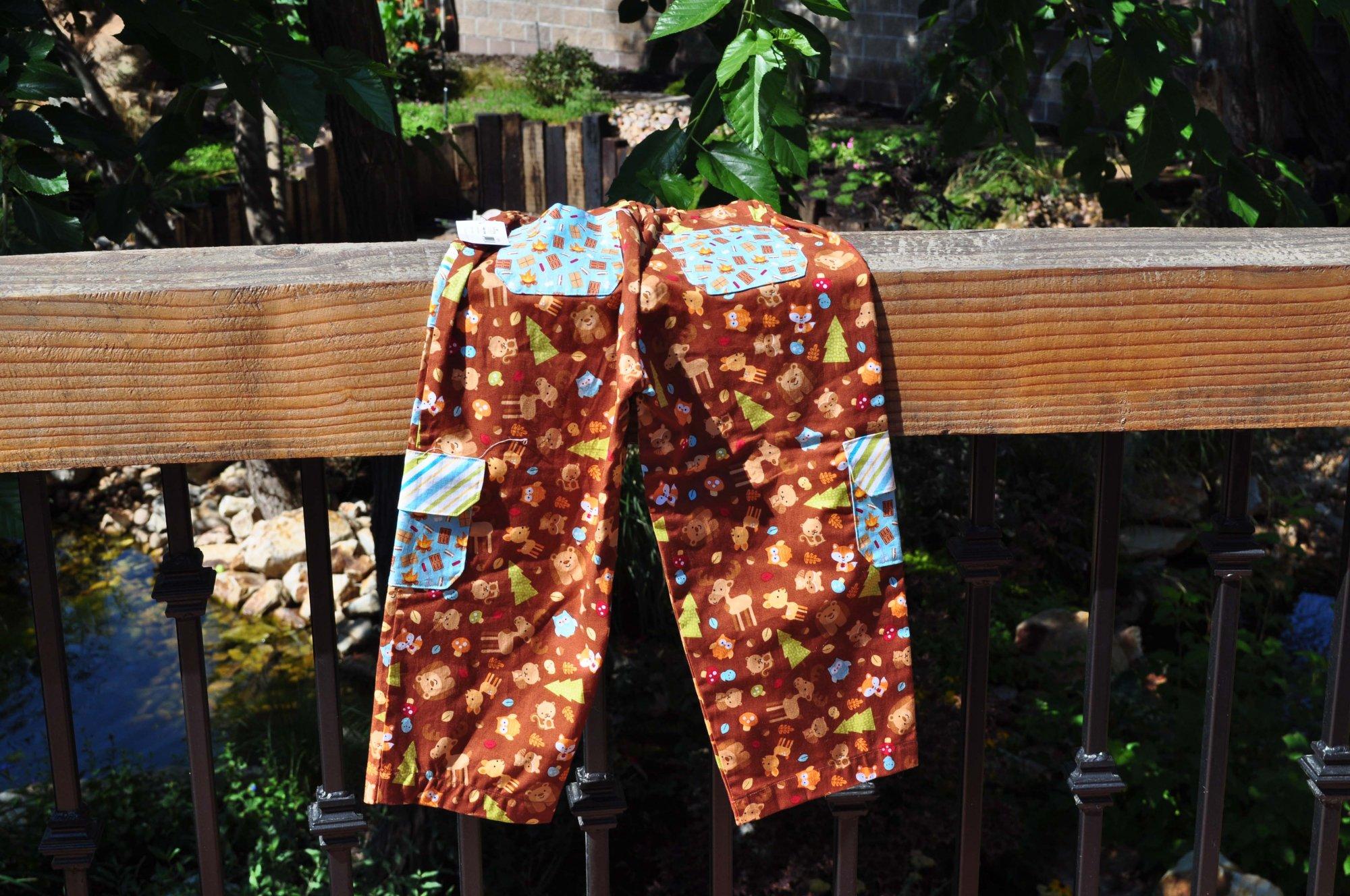 Happy Camper Kids PJ Pants - 19 waist x 23 long
