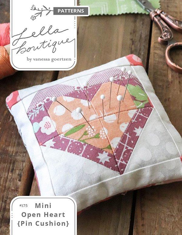 Mini Open Heart Pincushion - Lella Boutique