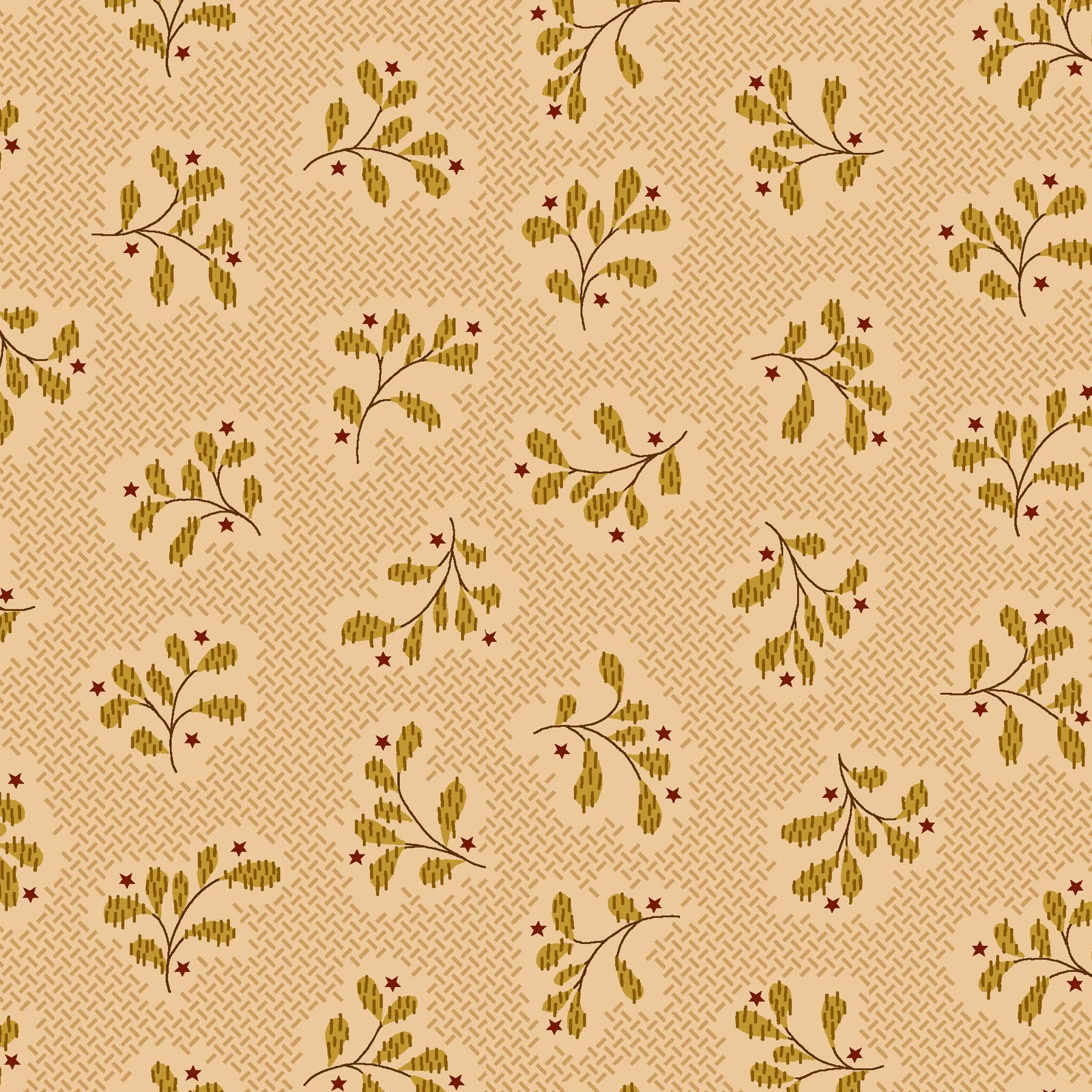 Wit and Wisdom - Leaf Clusters - Cream