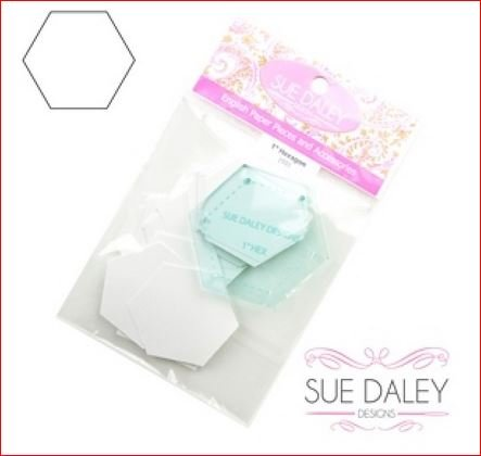 3/4 Hexagon - Papers and Template