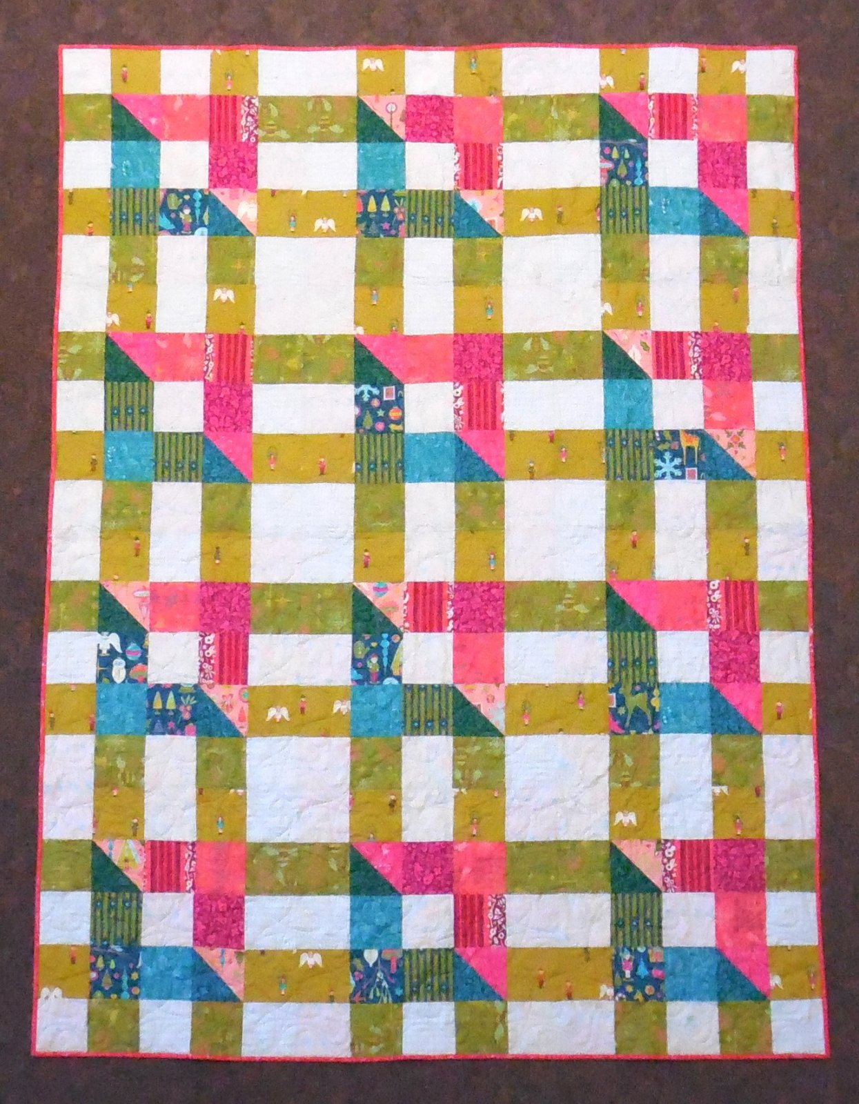 Holiday Quilt Kit 60 x 80