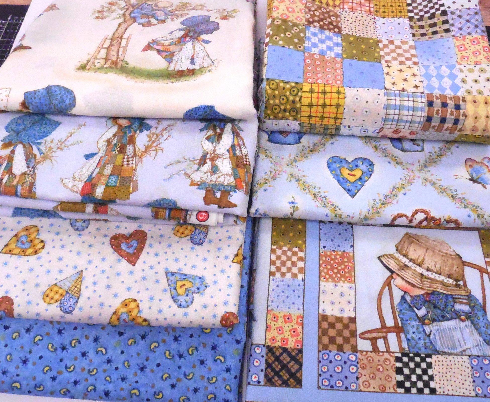 Holly Hobbie inspration bundle - 10 2/3 Yard Fabrics
