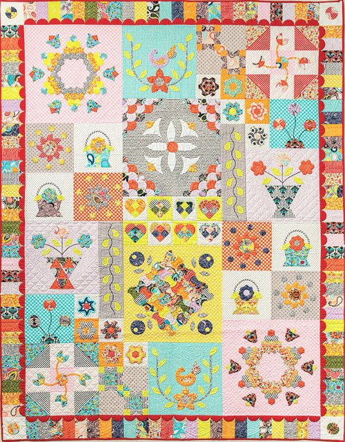 Birds of Paradise - English Paper Piecing - Papers & Templates