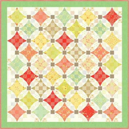 Nine Patch Waltz Quilt Kit - 67 x 67