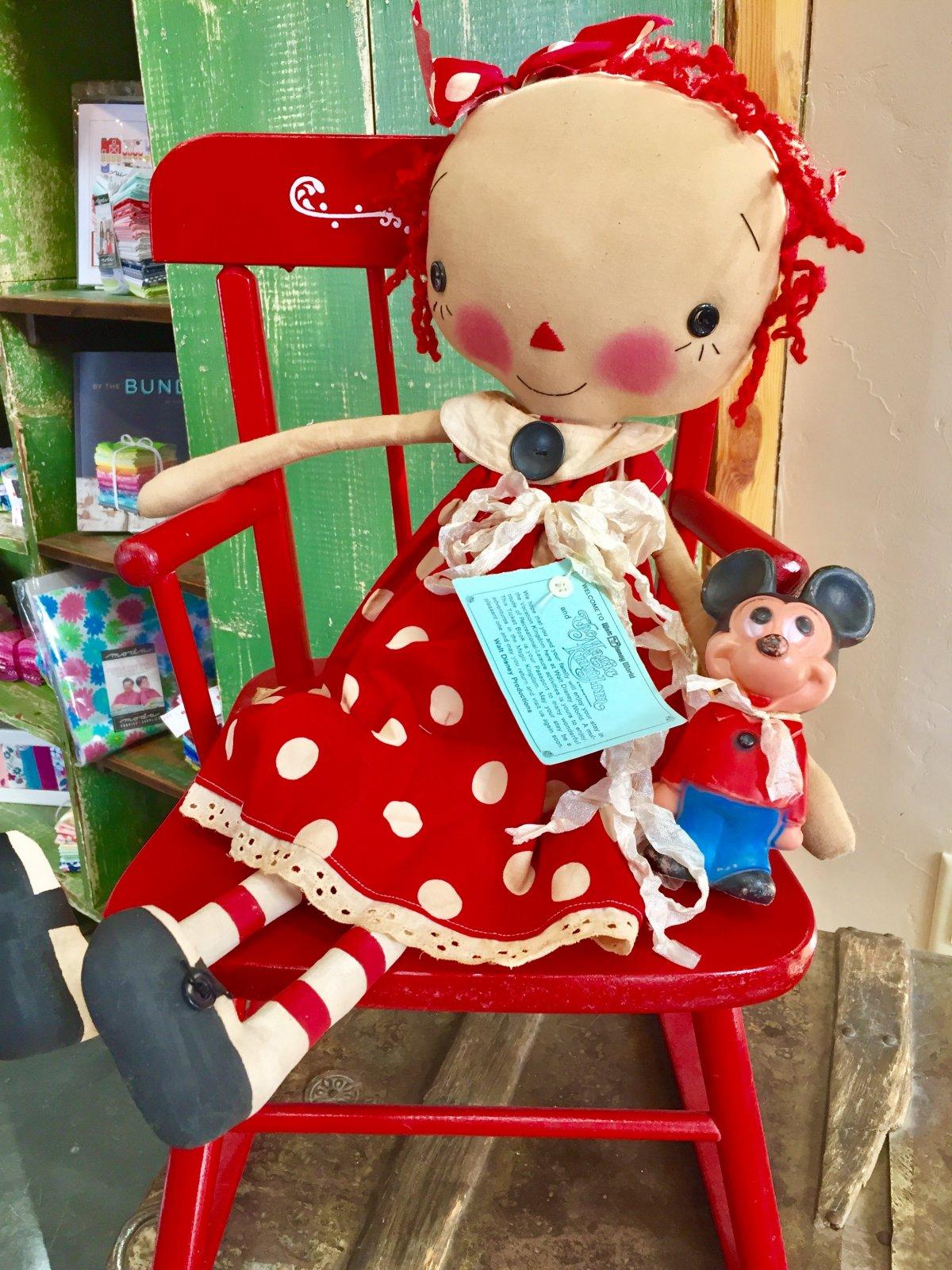 Raggedy Ann with Mickey