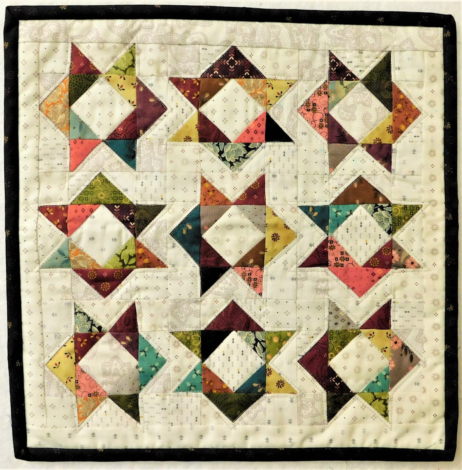Simple Whatnots 10 - In and Out Quilt Kit - 14 x 14