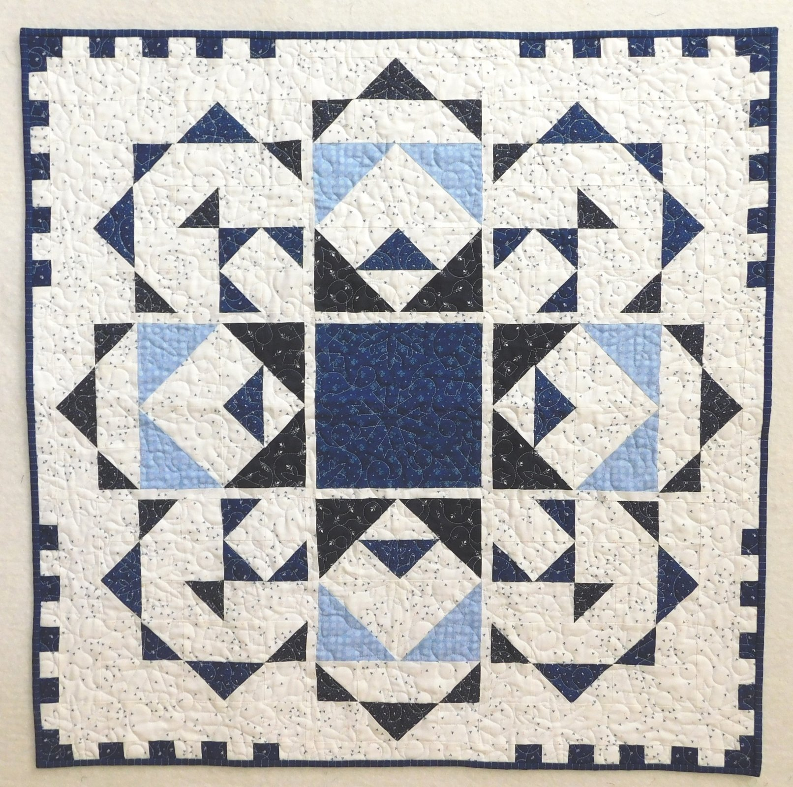 Jack Frost Quilt Kit 35 1/2 x 35 1/2