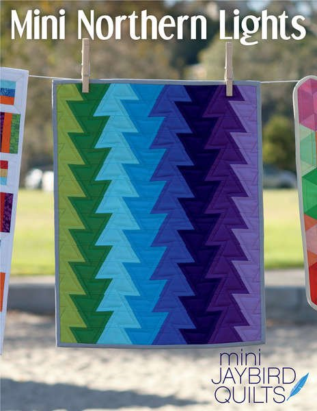 MINI Northern Lights - Quilt Pattern - by Jaybird Quilts