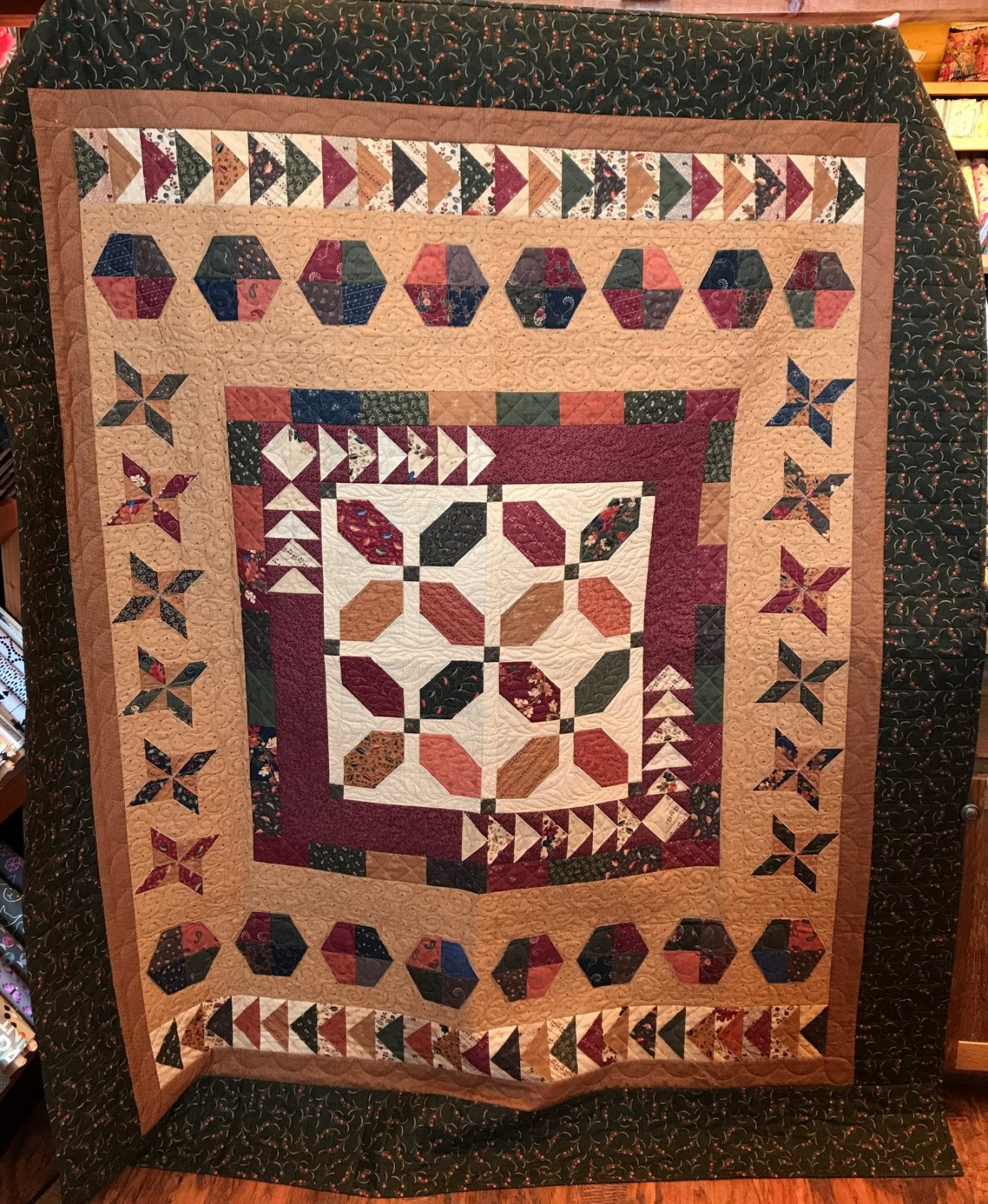 KT Cruisin' Sampler Quilt Kit - 64 x 76