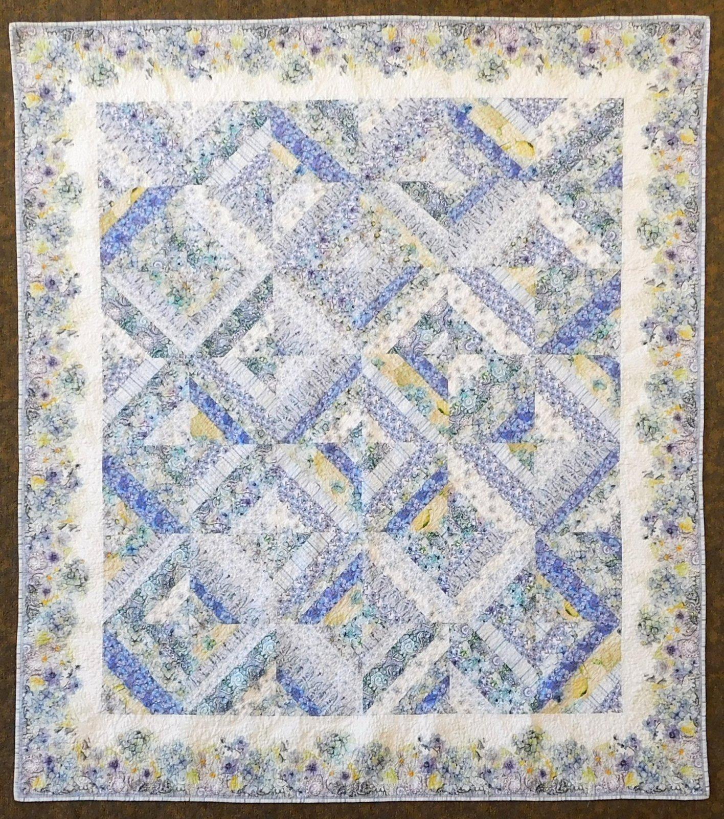 Leah Collection Quilt Kit - 79 1/2 x 89 1/2