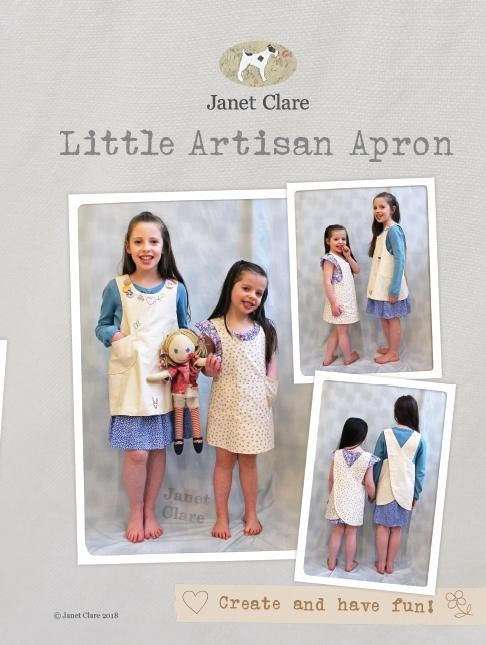 Artisan Apron Pattern by Janet Clare - Childrens Size