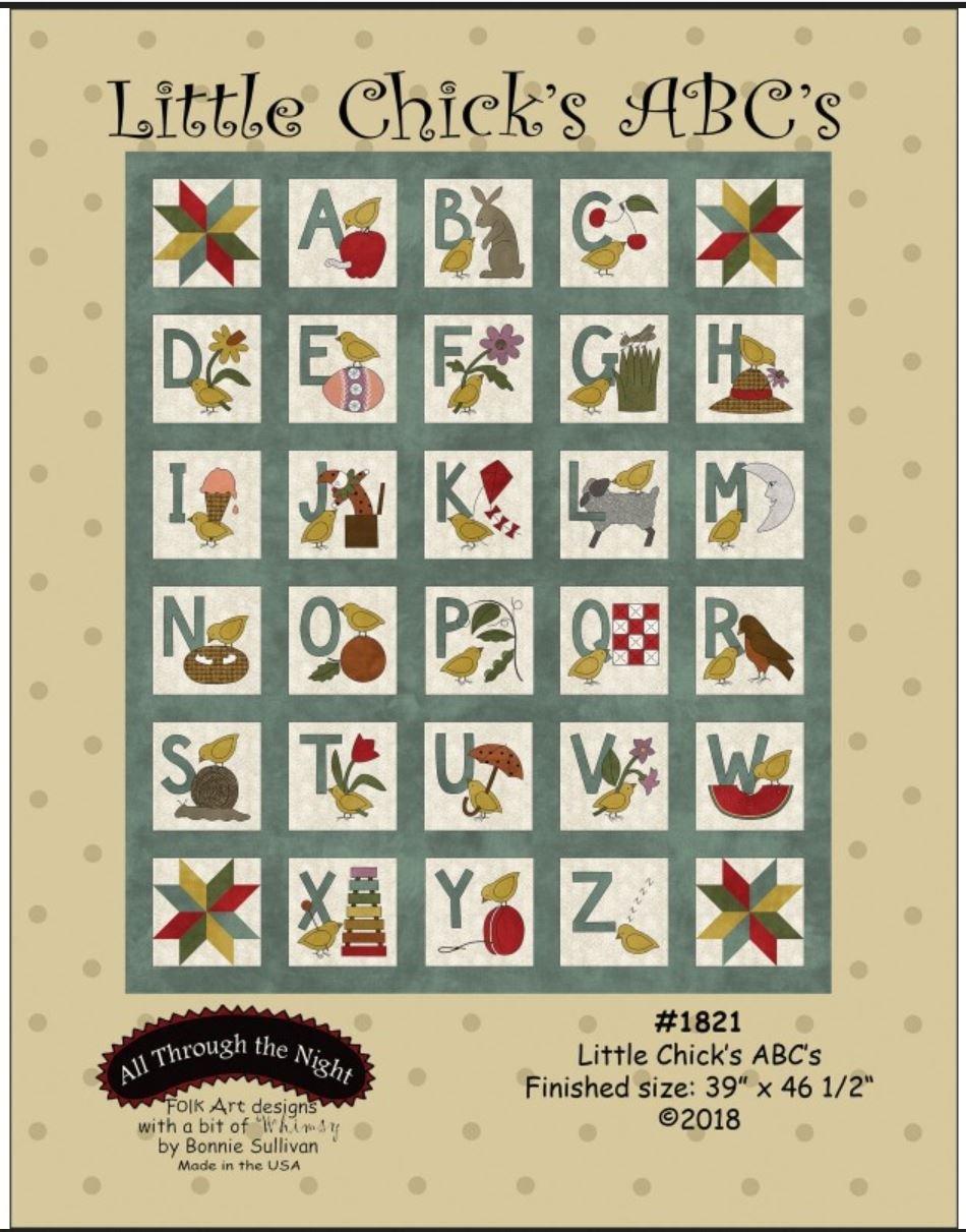 Little Chicks ABC's Quilt Pattern