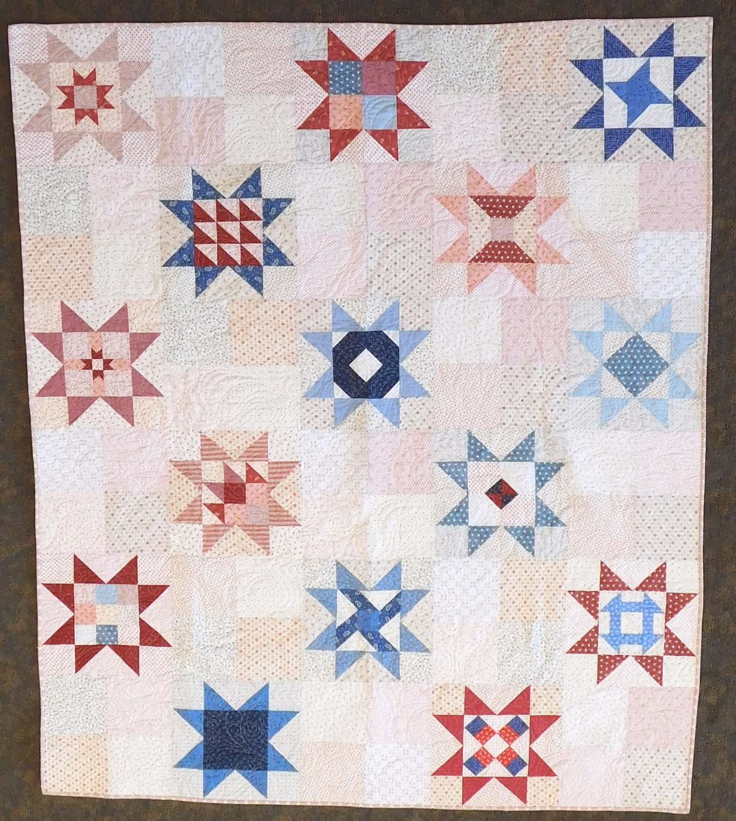 Little Miss Sawtooth - Block of the Month - Block 1