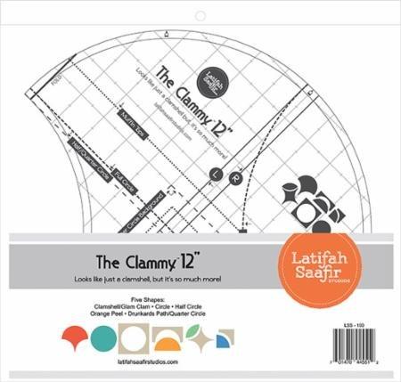 The Clammy 12 Ruler