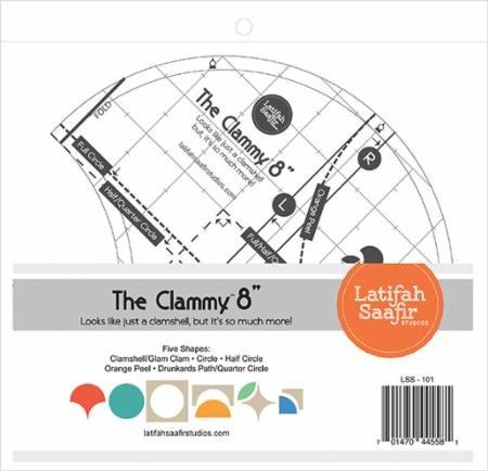 The Clammy 8 Ruler