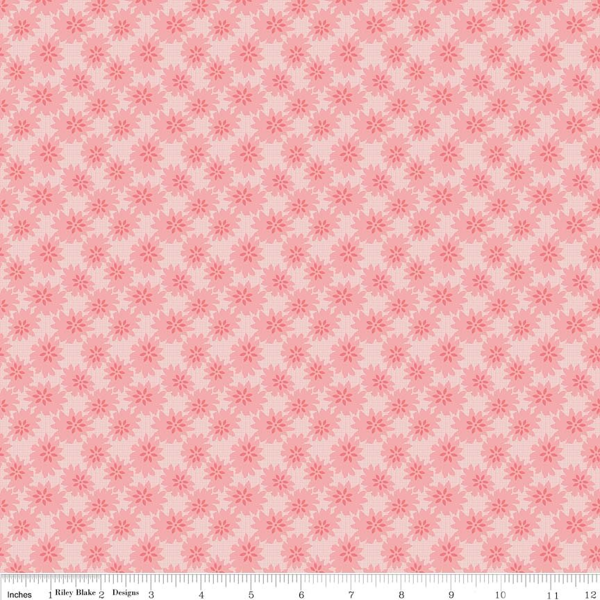 Linen and Lawn - Daisy - Pink