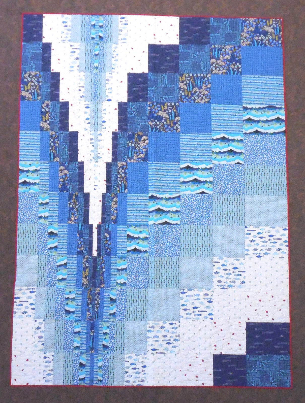 Making Waves Quilt Kit - 87 x 108