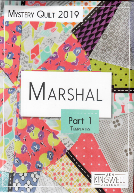 Marshal - Option #1 = Fabric, Magazines & Templates