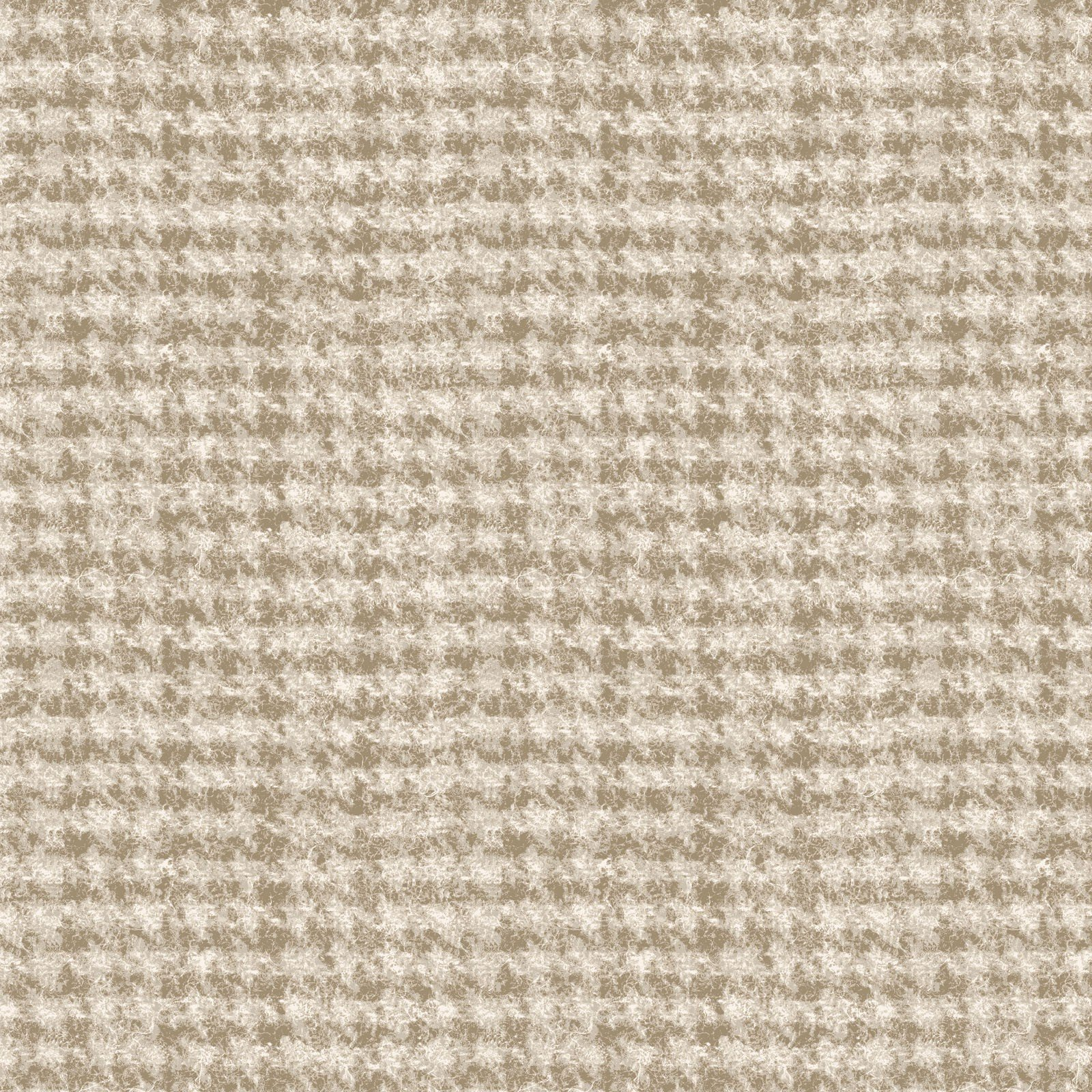 Woolies Flannel - Houndstooth - Light Tan
