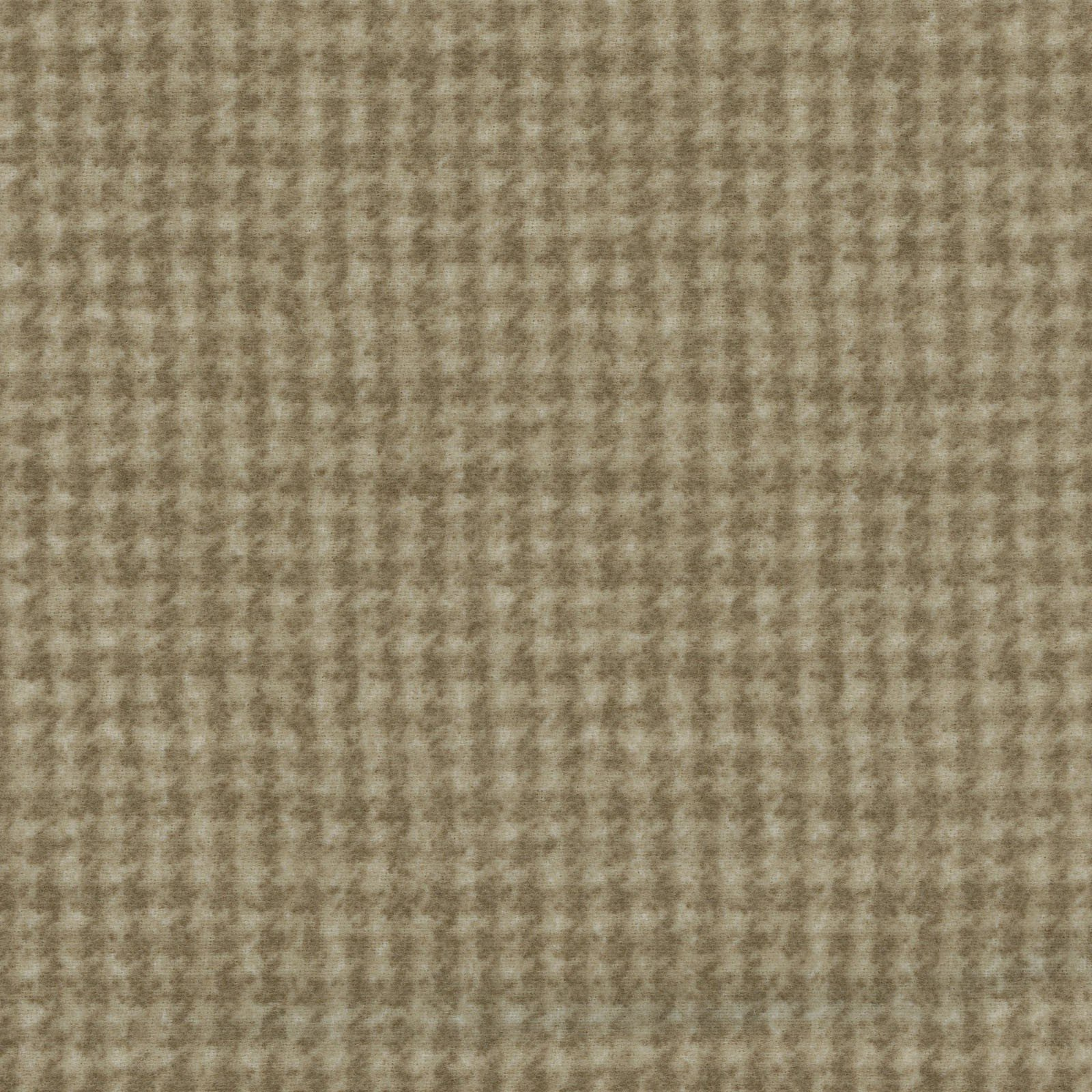 Woolies Flannel - Houndstooth - Khaki Brown