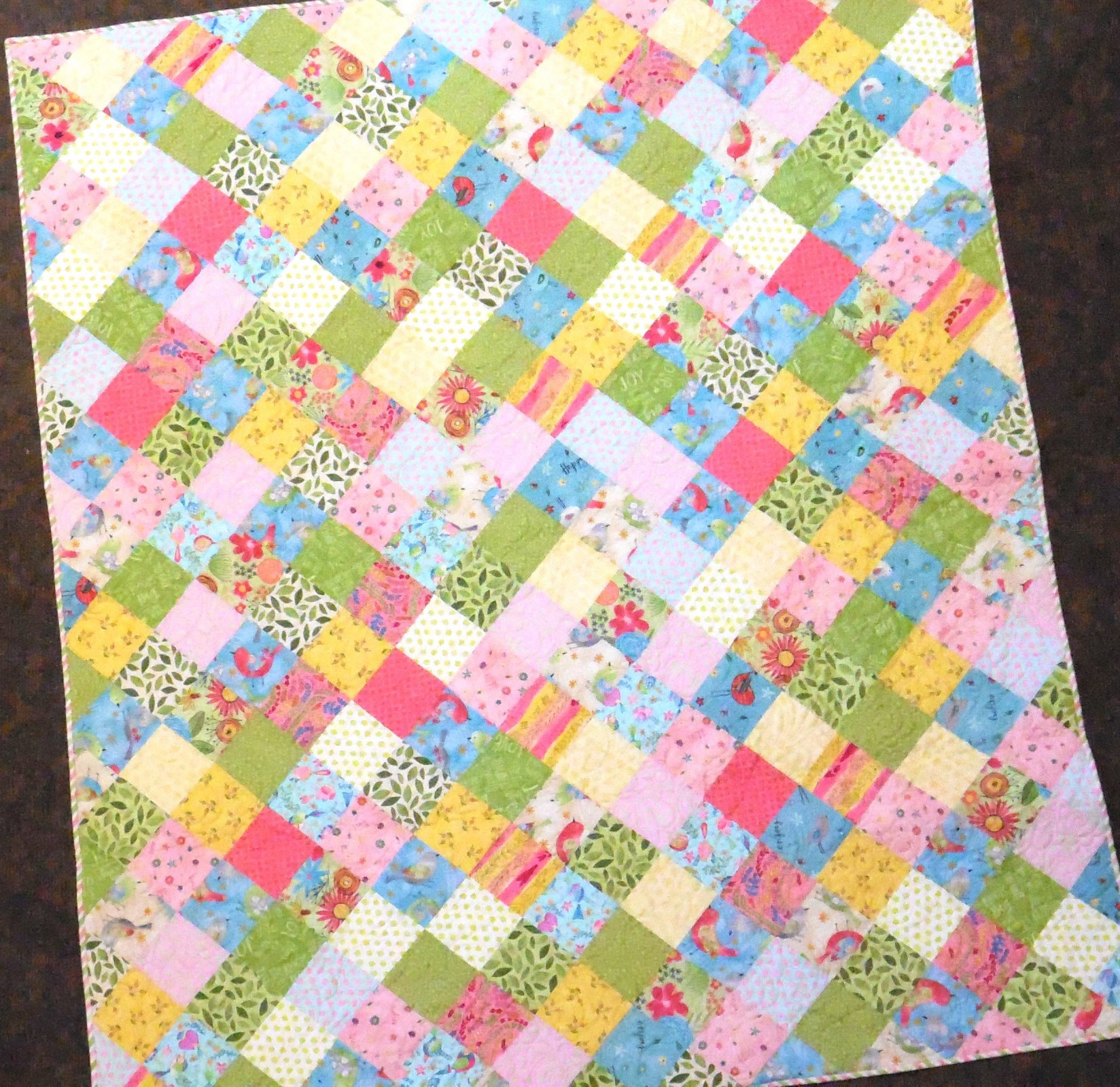 Meadow Quilt Kit - 60 x 71