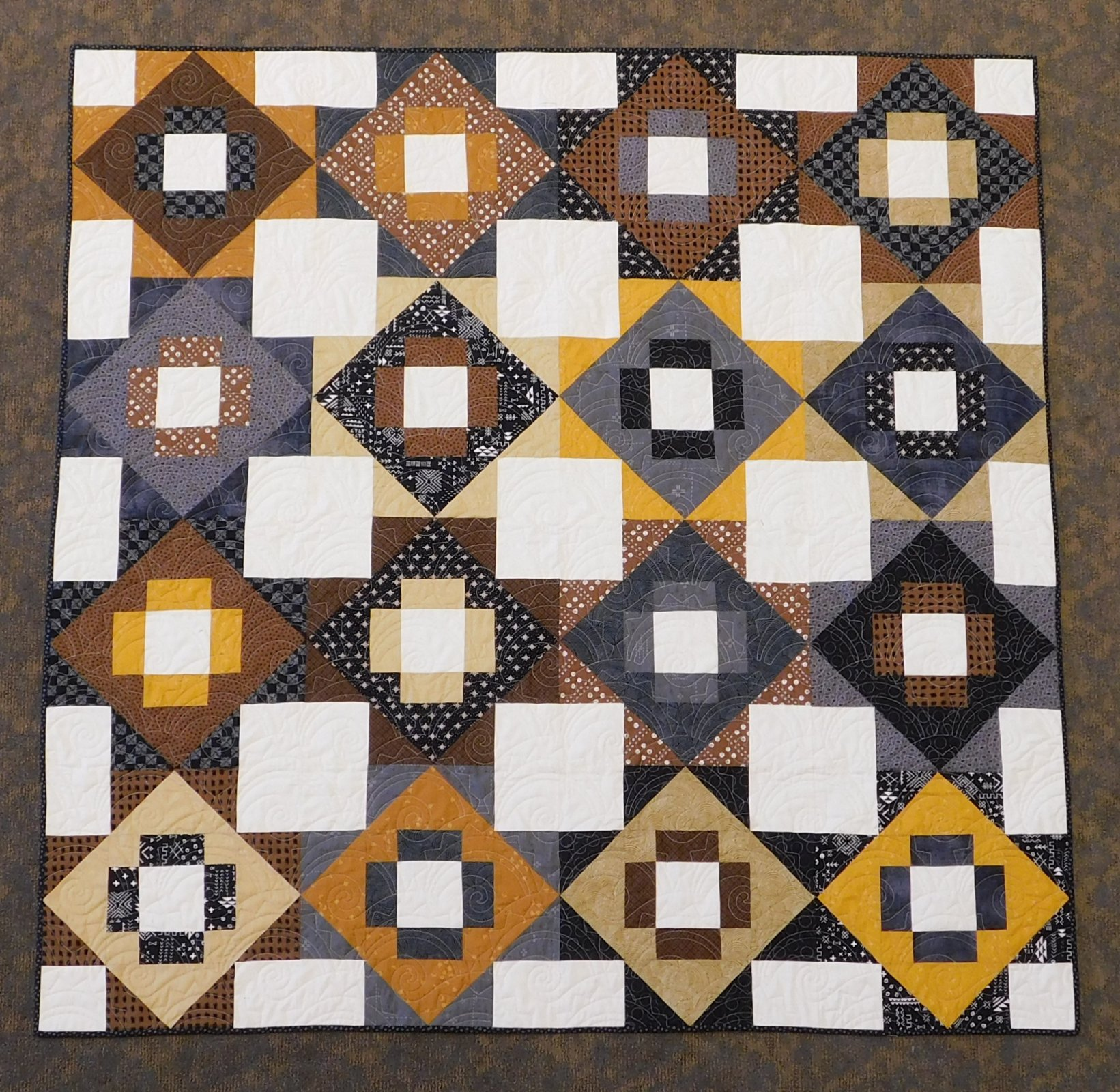Meadowland - Neutrals Quilt Kit 64 x 64