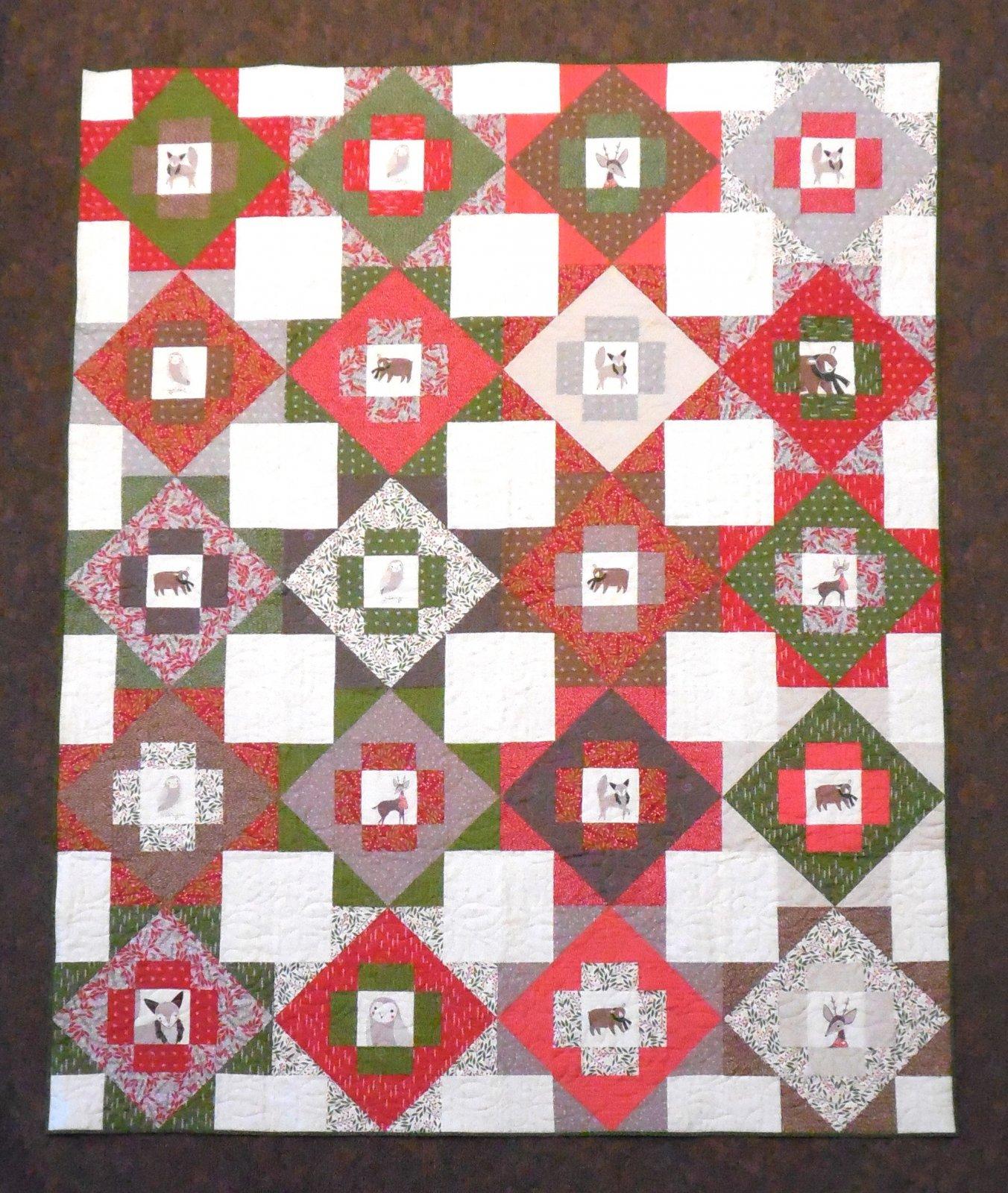 Merriment Finished Quilt 64 x 80
