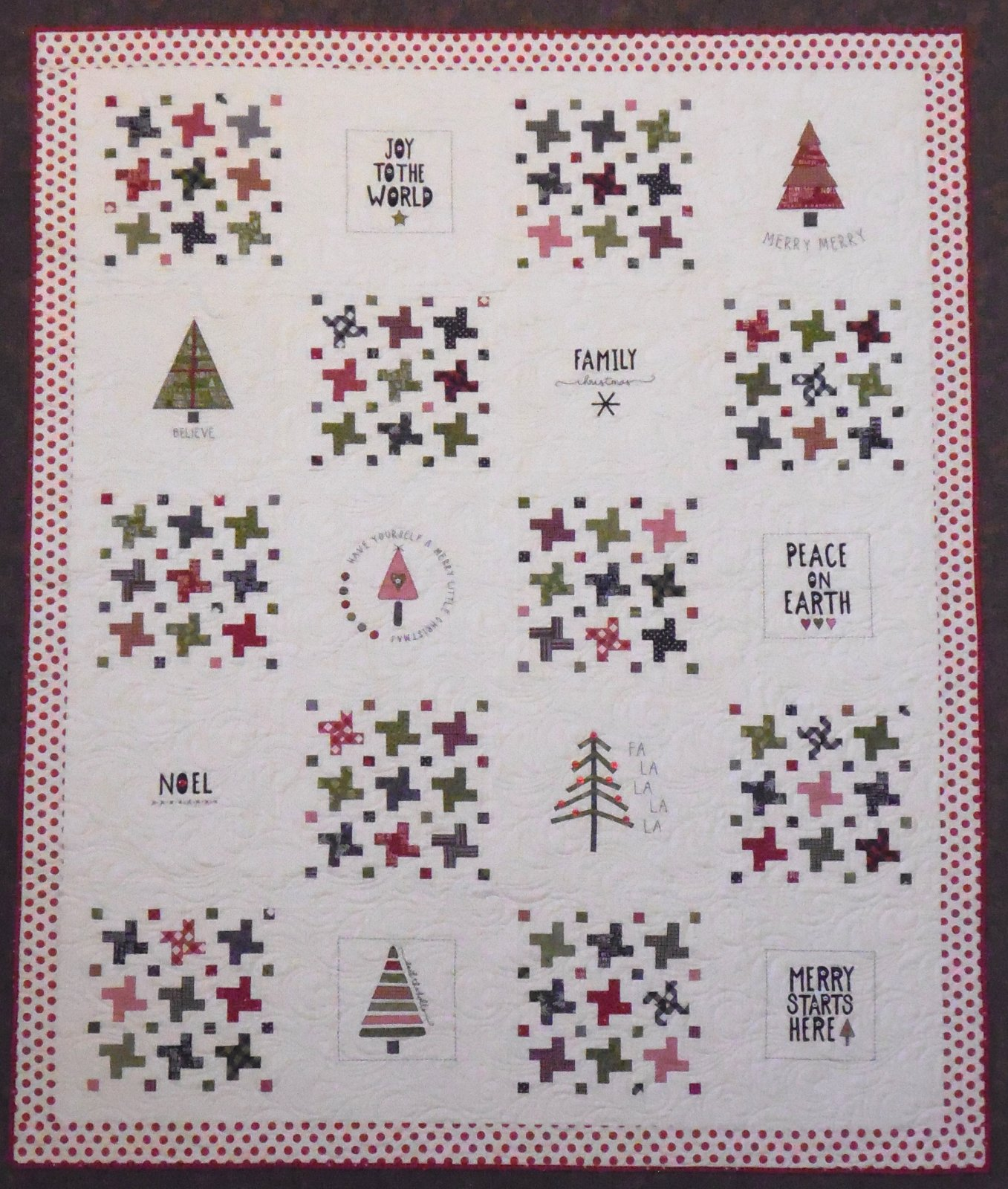 Merry Starts Here Quilt Kit - 64 x 78