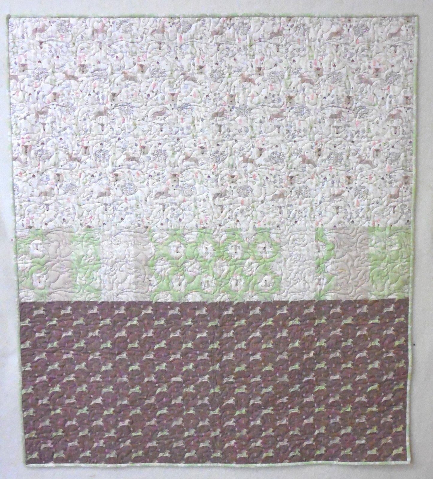 Mod Modern Pretty Little Woods Quilt Kit 40 x 44 1/2