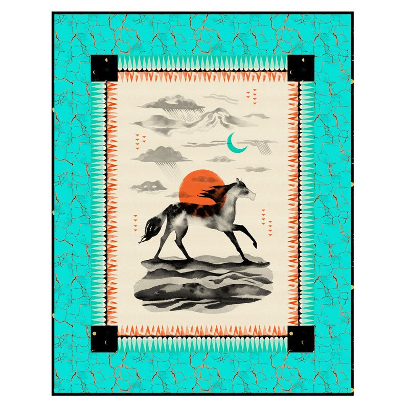 Moonrise Quilt Kit - 41 1/2 x 53 1/2