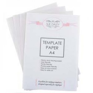 Template Paper A4 - designed especially for Applique