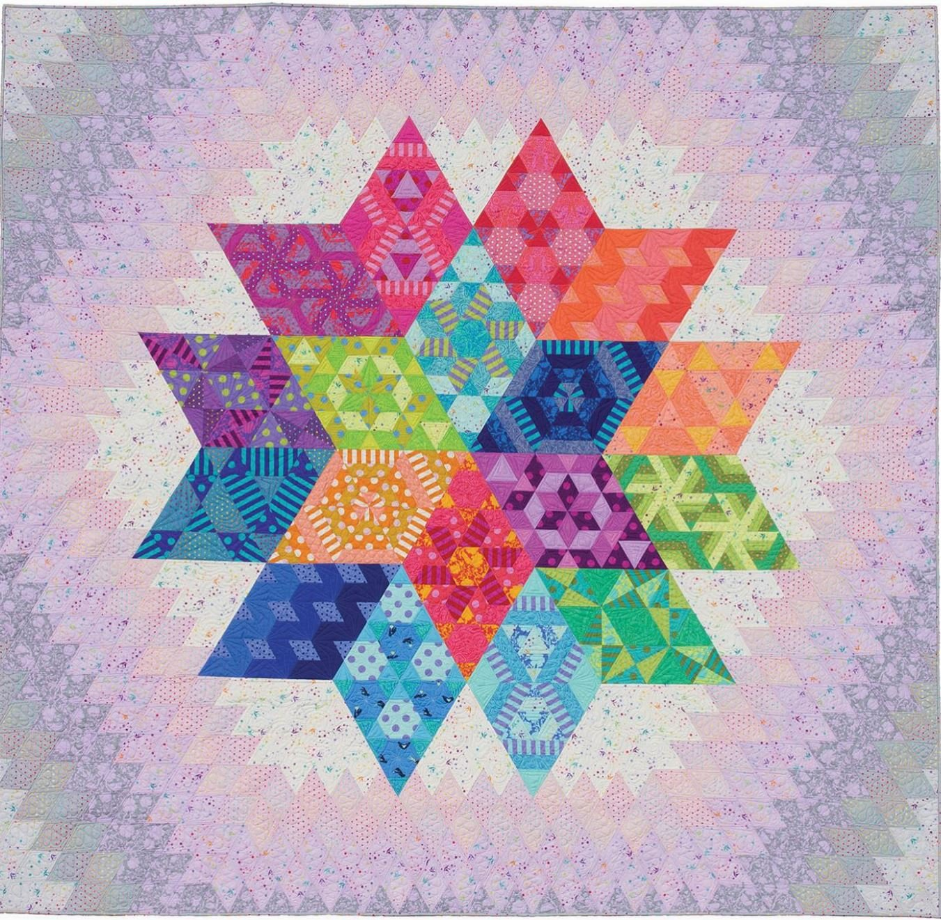 Nebula - BOM - Month 1 - by Tula Pink & Jaybird Quilts