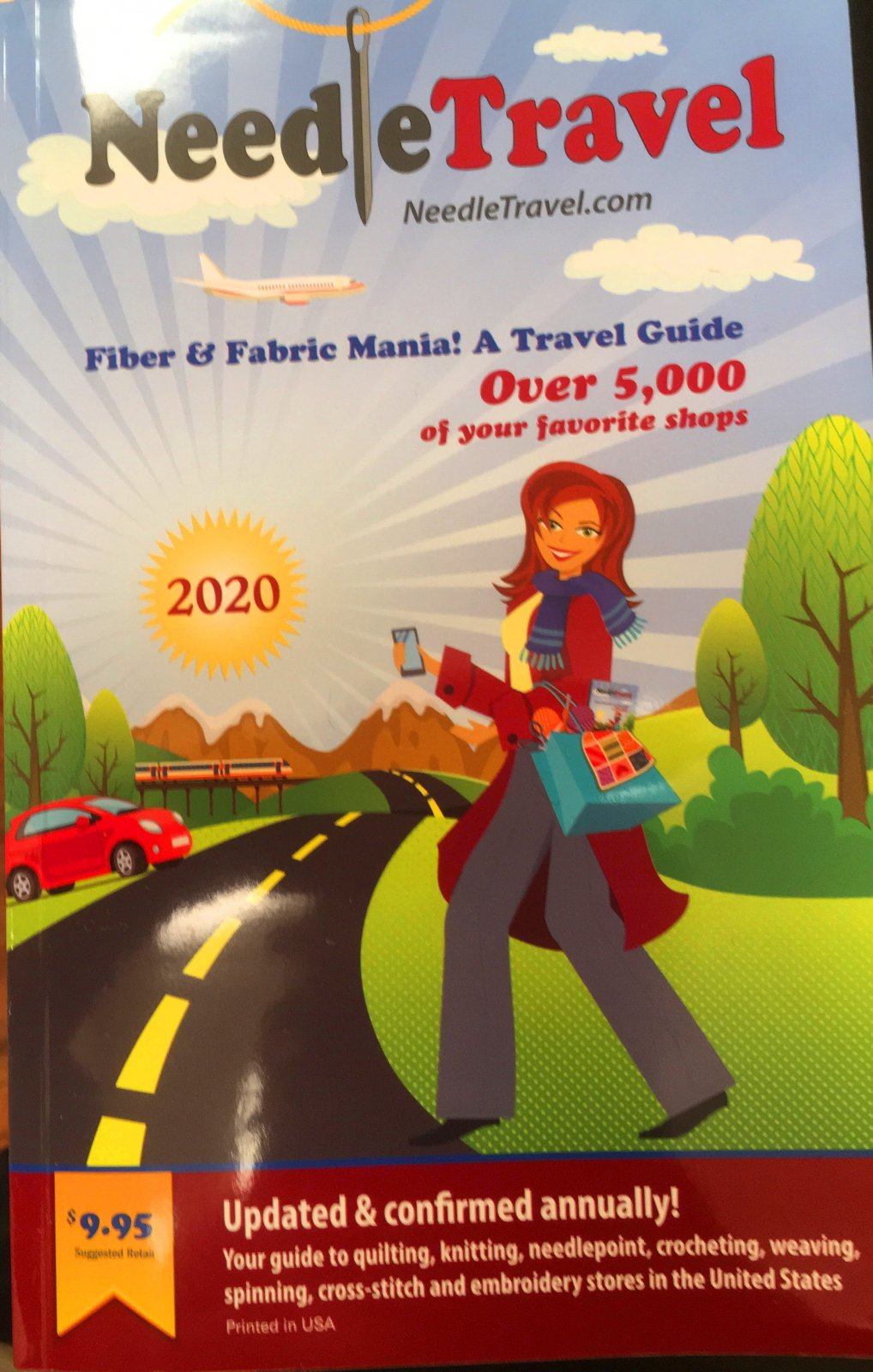 Needle Travel Guide Book 2020